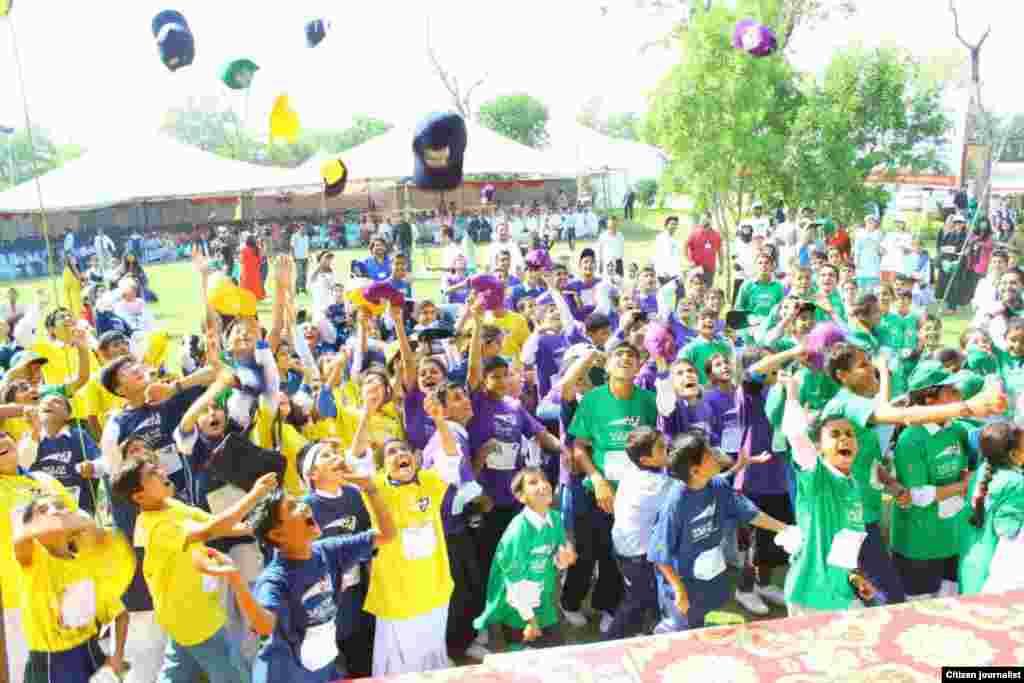 ''بقا کی دوڑ'' کے نام سے ہونے والی یہ بین الاقوامی دوڑ اسلام آباد میں بھی منعقد ہوئی۔