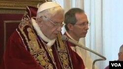 Sebagian umat Katholik di dunia menyuarakan ketidakpercayaan, sementara yang lain memahami keputusan pengunduran diri Paus Benediktus XVI akhir bulan ini (Foto: dok).