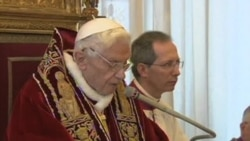 Pope's Resignation Is First in 600 Years