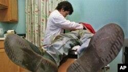 Perawatan diberikan kepada mereka yang tidak bisa didapatkan di tempat-tempat lain, kata mahasiswa kedokteran Steffanie Becerra (foto: Dok).