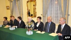 Під час церемонії вручення премій Фундації О. і Т. Антоновичів у посольстві України у Вашингтоні