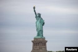 美國紐約的自由女神像