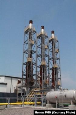 PT Perusahaan Gas Negara (Persero) Tbk memulai penyaluran gas bumi perdana ke Kawasan Industri Java Integrated Industrial and Port Estate (JIIPE) di Gresik, Jawa Timur sejak Selasa, 6 Maret 2018. (Foto: Humas PGN)