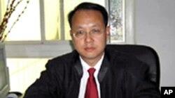 中國維權律師劉曉原(資料照片)