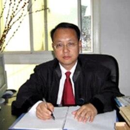 中国著名维权律师刘晓原(资料照片)