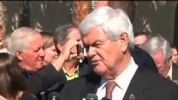 美国共和党总统参选人在佛州激烈竞选