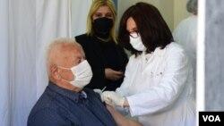 Vaccination North Macedonia Skopje Astra Zeneca