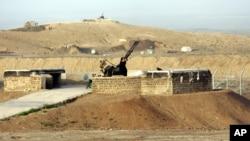 位於納坦茲的主要核濃縮設施,有地對空導彈發射塔負責守衛。