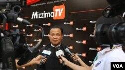 မဇၩိမရုပ္သံလုိင္း၊ Mizzima TV Channel တရား၀င္ မိတ္ဆက္ျခင္း အခမ္းအနား