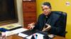Foto de archivo de José Luis Azuaje, presidente de la Conferencia Episcopal Venezolana, en conversación con la Voz de América.