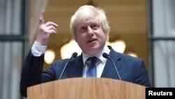 Menteri Luar Negeri Inggris, Boris Johnson (foto: dok).