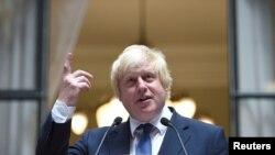 보리스 존슨 영국 외교장관. (자료사진)