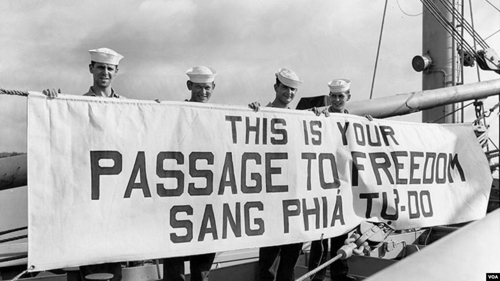 Passage to Freedom, 1954 - 1955.