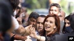 Επανεκλογή της Κριστίνα Φερνάντες στην Αργεντινή