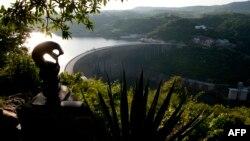 Le barrage de Kariba entre le Zimbabwe et la Zambie.