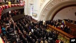 El control que tiene el chavismo en la Asamblea Nacional es decisivo para la renovación de autoridades, según Nicolás Maduro.