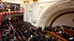 La oposición aspira revertir la mayoría que tiene el chavismo en la Asamblea Nacional.