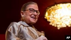 Hakim Agung AS, Ruth Bader Ginsburg. (Foto: Dok)