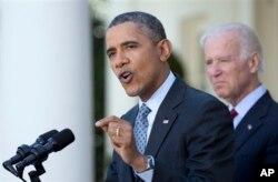 美国总统奥巴马4月1日在白宫就医保法发表讲话
