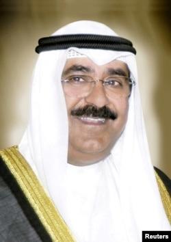 Sheikh Meshal al-Ahmad al-Jaber al-Sabah, dinobatkan sebagai putra mahkota Kuwait. (Foto: Kantor Berita Kuwait / Handout via REUTERS)