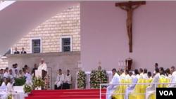 Paus Fransiskus di Albania