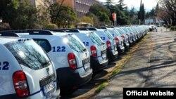 Terenska vozila za graničnu policiju u Crnoj Gori