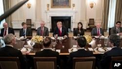 نشست دیپلمات های ارشد شورای امنیت با پرزیدنت ترامپ