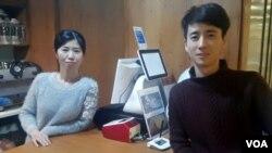 북한 함경북도 회령 출신 탈북 남매 유순애, 유진성 씨가 공동대표로 인천 부평 시에서 카페를 운영하고 있다.