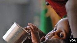 De los 3,7 millones de afectados por la hambruna, 1,25 millones son niños que necesitan alimentos con urgencia, o podrían morir.