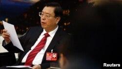 Zhang Dejiang, akan menjadi pejabat senior pertama China yang datang ke Hong Kong sejak terjadi demonstrasi pro-demokrasi tahun 2014. (Foto: dok).
