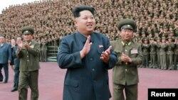 Lãnh tụ Bắc Triều Tiên Kim Jong Un tại Bình Nhưỡng.