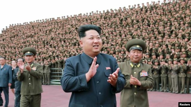 朝鮮最高領導人金正恩(資料照片)