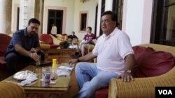 Mantan Gubernur New Mexico, Bill Richardson mencoba untuk membebaskan kontraktor AS di Havana, Kuba (13/9).