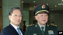 베이징에서 회담을 가진 한-중 국방장관