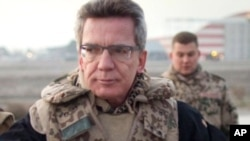 نگرانی وزیردفاع آلمان در مورد کاهش نیروهای افغان