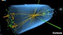 """La """"partícula de Dios"""" es la clave de la teoría del bosón de Higgs (Foto: CERN)."""