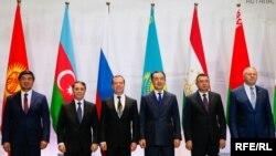 Заседание Совета глав правительств стран СНГ. Астана, 20 октября 2018 года