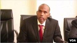 Hassan Ali Khaire, Premier ministre somalien, le 23 février 2017. (VOA)