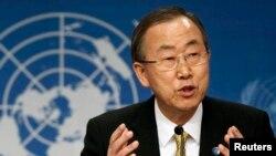 Tổng thư ký Liên Hiệp Quốc Ban Ki Moon.