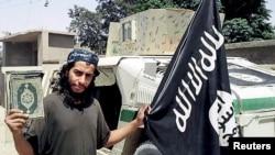 파리 테러 공격을 조율한 것으로 알려진 ISIL 지도자 압델하미드 아바우드. (자료사진)