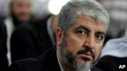 Khaled Mashaal, kembali diangkat sebagai pemimpin utama Hamas untuk masa jabatan empat tahun (Foto: dok).
