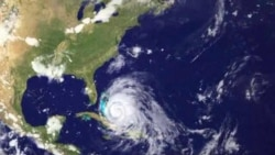 NOAA: GOES Satellite Tracks Hurricane Irene