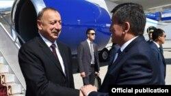 İlham Əliyev Qırğızıstanda