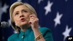 Bà Clinton nói Trung Quốc tìm cách 'hack mọi thứ ở Mỹ'.