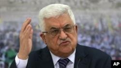 마흐무드 압바스 팔레스타인 자치정부 수반. (자료사진)