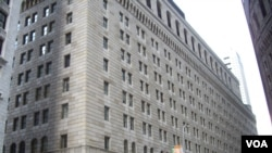 Gedung Bank Pemerintah di New York (Foto: dok).