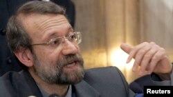 Ketua parlemen Iran Ali Larijani mengatakan optimis bahwa perbedaan antara Iran dan Barat soal program nuklir dapat dijembatani (foto: dok).