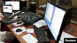 Le journaliste de la Radio Publique Africaine (RPA) à Bujumbura, le 26 avril 2015.