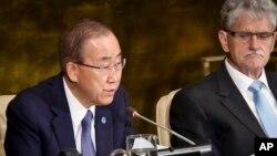 """بان کی مون می گوید عربستان سعودی او را """"تحت فشار غیر قابل قبولی"""" قرار داد تا نام این کشور حذف شود."""