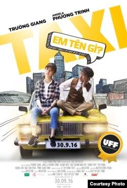 """Poster phim """"Taxi Em tên gì?"""" được trình chiếu trong Vietnamese Film Festival 2016 tại Úc. (Ảnh: Ban tổ chức cung cấp)."""